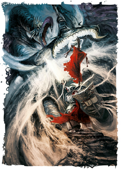 Kaldor Draigo vs. M'Kar