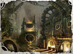 Irradial Forge Dark Mechanicus