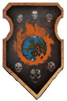 Legio Infernus Warlord Princeps Livery Shield