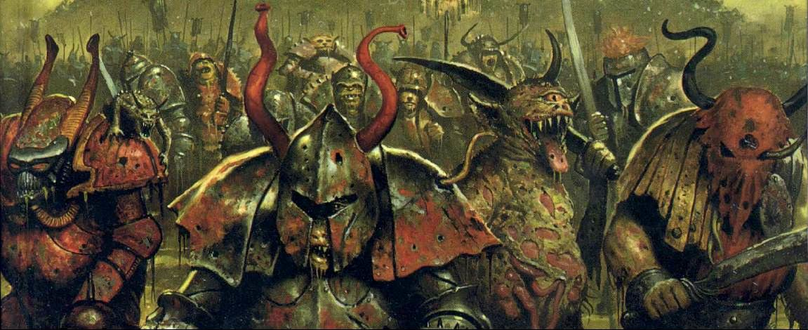 Chaos gods sacred numbers