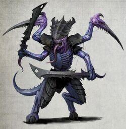 Tyranid Warrior Hydra