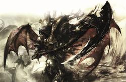 Daemon Primarch Mortarion