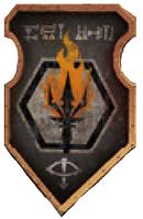 Legio Infernus Warlord Livery Shield