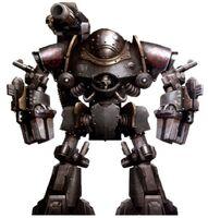 Castellax Battle Automata Cyclothrane Taghmata