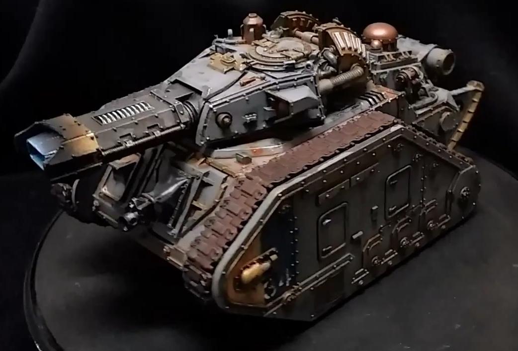 Imperial Guard Tank DOZER BLADE Astra Militarum Leman Russ 40K