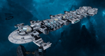 Gal'leath (Explorer) class Starship