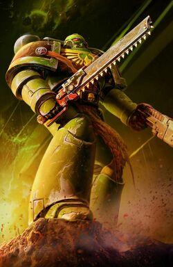 Salamanders Tactical Marine