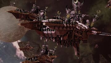 Slaanesh fleet