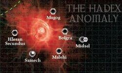 Hadex Anomoly