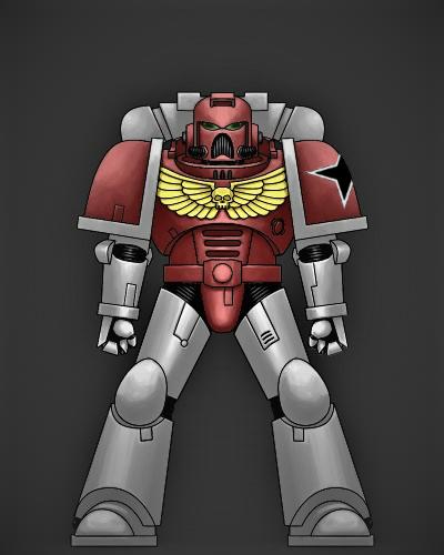 Arme Paar Forgeworld MK IV MAXIMUS ARMOUR A - *BITS*