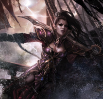 Warhammer Female Black Ark Corsair
