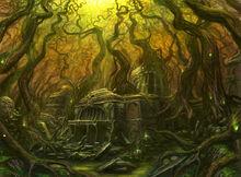 Marismas de la Locura Templo de Mourkain
