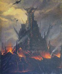Black Fortress Colour Tamurkhan Illustration