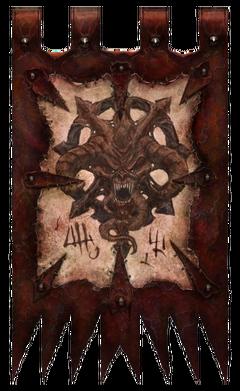 Daemon of Chaos Banner