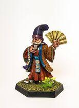 Колдун Ниппона, миниатюра.