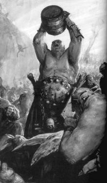 Warhammere Ogre War in the Sky