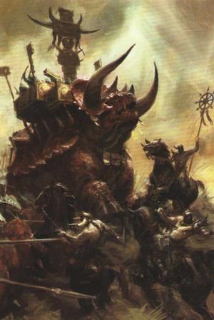 Warhammer Lizardmen Stegadon