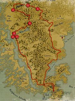 Warhammer Tepec-Inzi Map