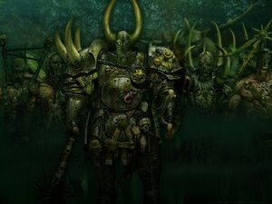 Warhammer Followers of Nurgle Arts