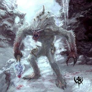 Warhammer Yhetee Art