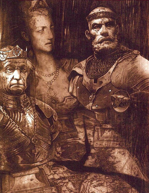 Age of Three Emperors Sigmar's Heirs Sepia Illustration