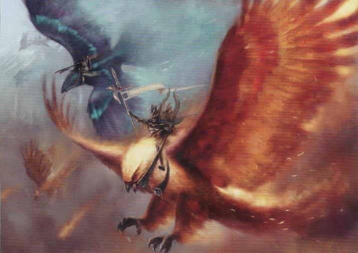 Znalezione obrazy dla zapytania warhammer phoenix art