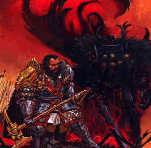 Warhammer End Times Valten vs Archaon