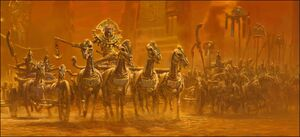 Warhammer Tomb Kings Settra Awakens