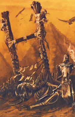 Warhammer Tomb Kings Screaming Skull Catapult