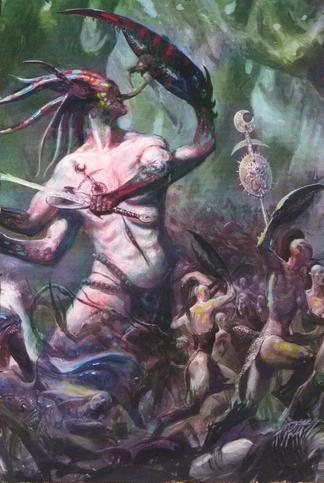 Daemons vs Wood Elves