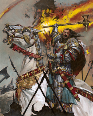 Warhammer End Time Valten Stands