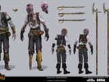 Zombie Pirate Deckhands Mob
