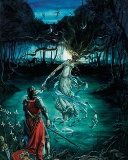 Knight-Fay-Enchantress Bretonnia-Warhammer-Fantasy