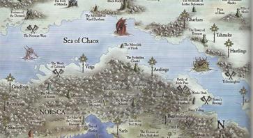 Sea of Chaos Map