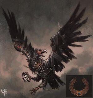 Warhammer Tomb Kings Carrion Art