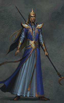 Warhammer High Elf Mage