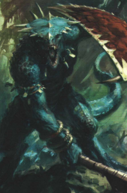 Warhammmer Lizardmen Saurus