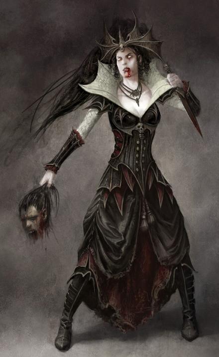 Vampire Women Dominate And Drain