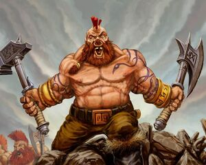 Warhammer Snorri Nosebiter Art