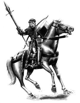 Hombres de Armas a Caballo por Des Hanley (2)