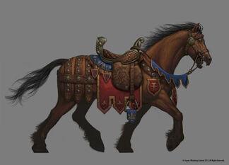 Bretonnian Barding tier 1