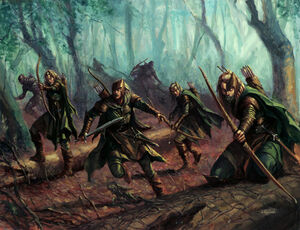 Warhammer Wood Elves Kindred
