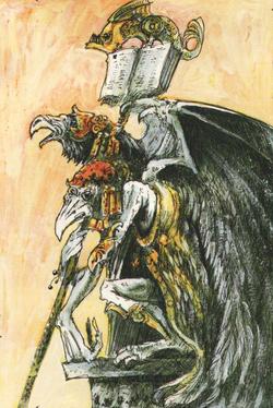 Warhammer Kairos Fateweaver art