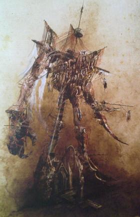 Warhammer Necrofex Colossus