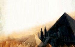 Warhammer Tomb Kings Black Pyramid