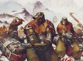 Warhammer Ogre Irongut Wallpaper