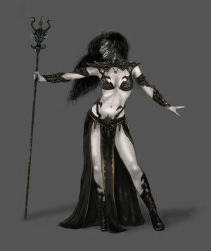 Warhammer Dark Elves Women 2