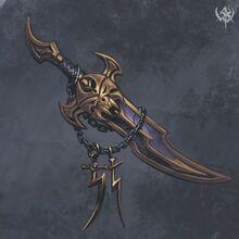 Dark Elf Dagger Trophy Warhammer Age of Reckoning