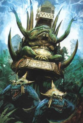 Warhammer Slann Mage-Priest