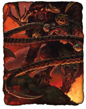 Warhammer Daemons of Chaos Bloodthirster
